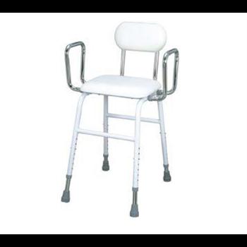 כסא גבוה טלסקופי עם גב וידיות