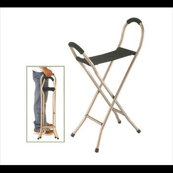 מקל כסא בד מתקפל 4 רגליים 9111L