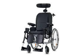 כסא גלגלים סיעודי טילט גב הטייה RELAX (גלגל אחורי גדול)