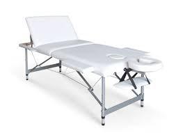 מיטת טיפולים  מאלומיניום עם גב מתרומם Anlite III