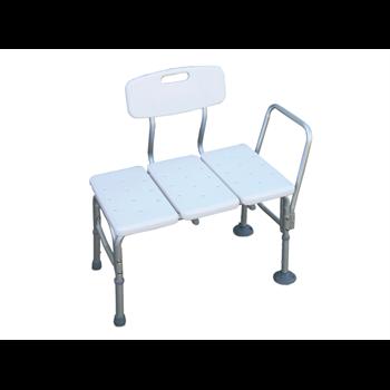 כסא העברה לאמבט + ידית וגב