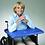 Thumbnail: שולחן מרופד קשיח לכיסא גלגלים