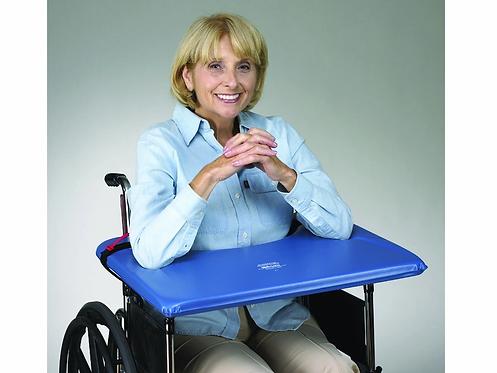 שולחן מרופד קשיח לכיסא גלגלים