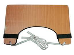 שולחן עץ לכסא גלגלים
