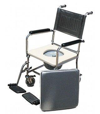כסא רחצה ושירותיםחזק שלדה יצוקה נירוסטה 304 למשקלים גבוהים