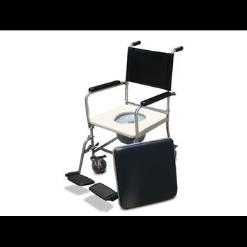 כסא רחצה ושירותים חזק שילדה יצוקה נירוסטה 304