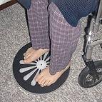 קל להסתובב לגיל השלישי, דיסק העברה מאפשר מעבר ממיטה לכסא ולהיפך, מאפשר סיבוב בקלות. pivot disc של safetysure חי קל ובטוח