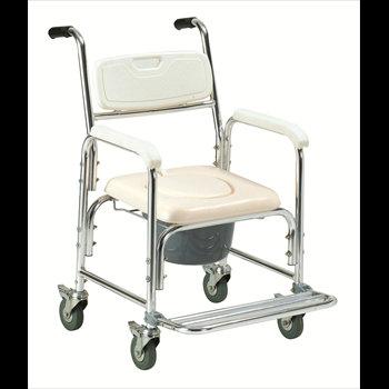 כסא שירותים, אלומיניום עם רגלית