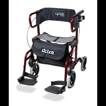 רולטור 4 גלגלים וכסא העברה