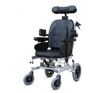 כסא גלגלים סיעודי טילט גב הטייה RELAX (גלגל אחורי קטן)