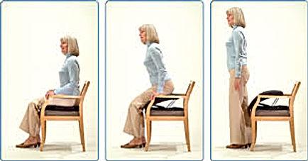 קל לקום כסא עזר לקימה של carex upeasy seat. חי קל ובטוח.