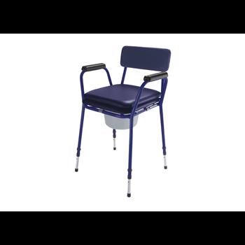 כסא שירותים טלסקופי מרופד TS-CARE