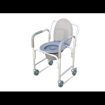 כסא שירותים קומוד עם / בלי גלגלים