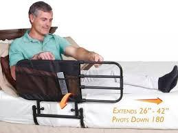 מעקה בטיחות למיטה מתכווננת STANDER מקורי