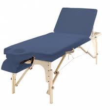מיטת טיפולים מעץ גב מתרומם