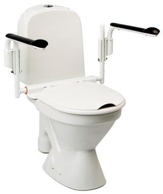 ידיות לקימה משירותים מתכווננות