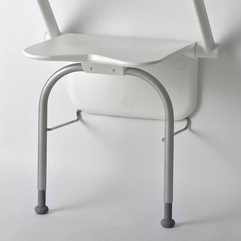 מושב מתקפל למקלחת relax etac עם ידיות מתקפלות ורגלית תמיכה
