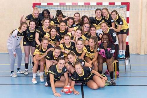Seniors féminines ARHB (Atlantique Rezé Handball) - Saison 2017-2018