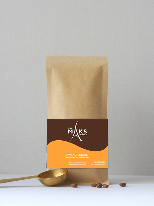 250g Rwanda Kigali - Honey Orange & Dark Chocolate