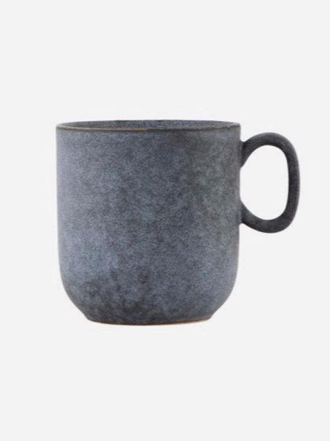 Grey Stone Mug by House Doctor