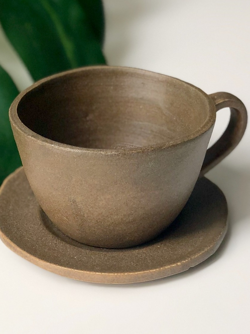 WILMA - Stone Age Cup & Saucer