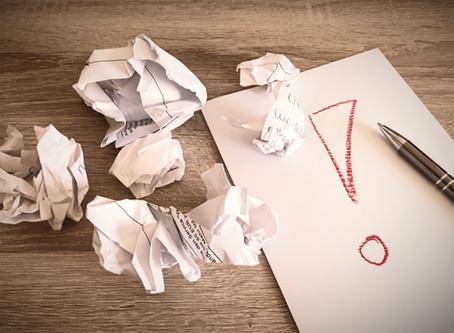 Wie überwindet man eine Schreibblockade?