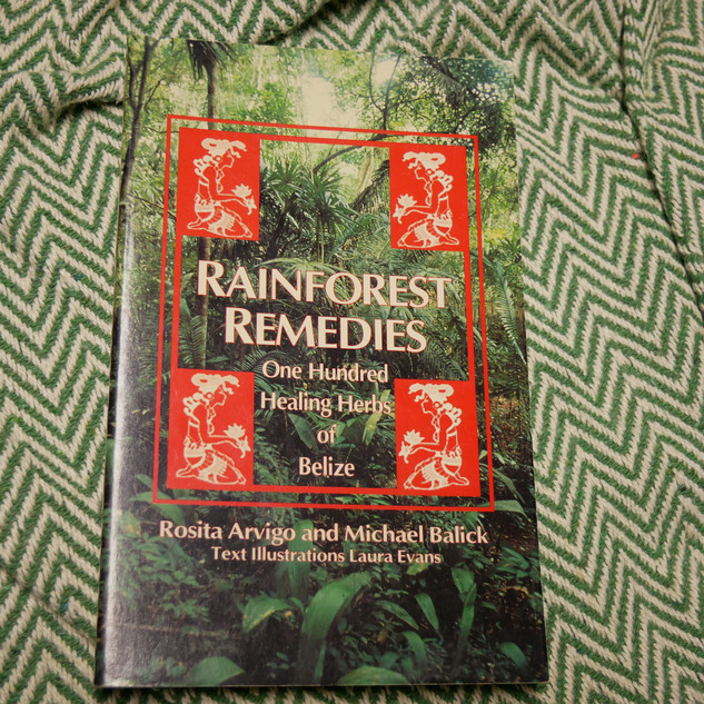 Rainforest Remedies: One Hundred Healing Herbs of Belize, by Rosita Arvigo and Michael Balick