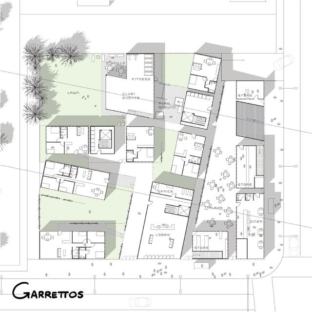 Apartment Plan La Brea