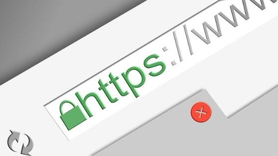 Wix Webseite hat einen standard SSL Zertifikat