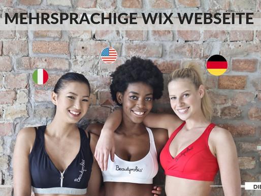 Mit Wix eine mehrsprachige Webseite erstellen