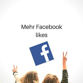 Mehr LIKEs auf Facebook