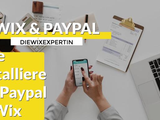 WIX und PayPal
