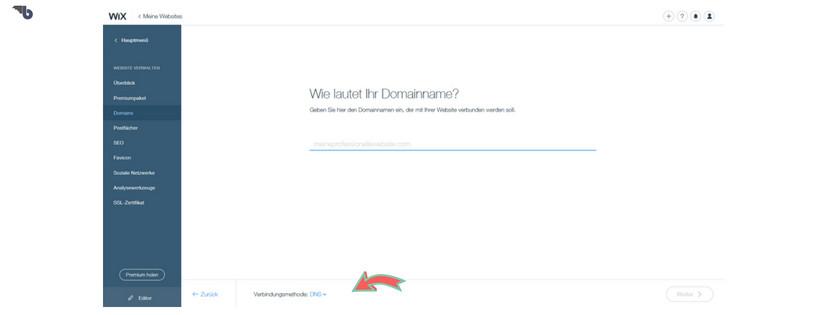 Wix Webseitemit Strato mittels Weiterleitung verbinden
