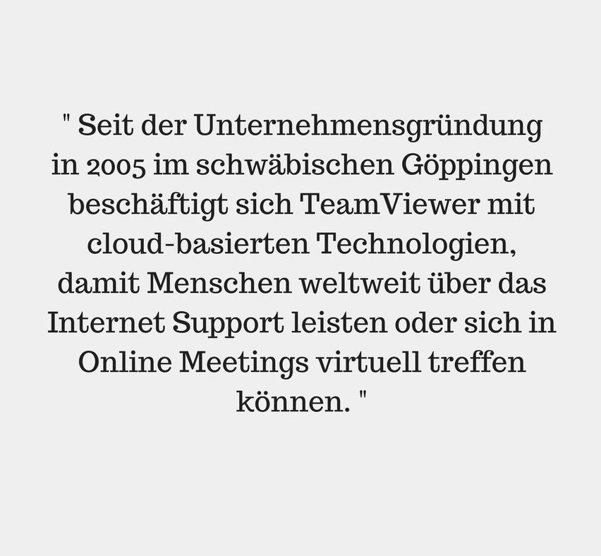 Teamviewer Über uns