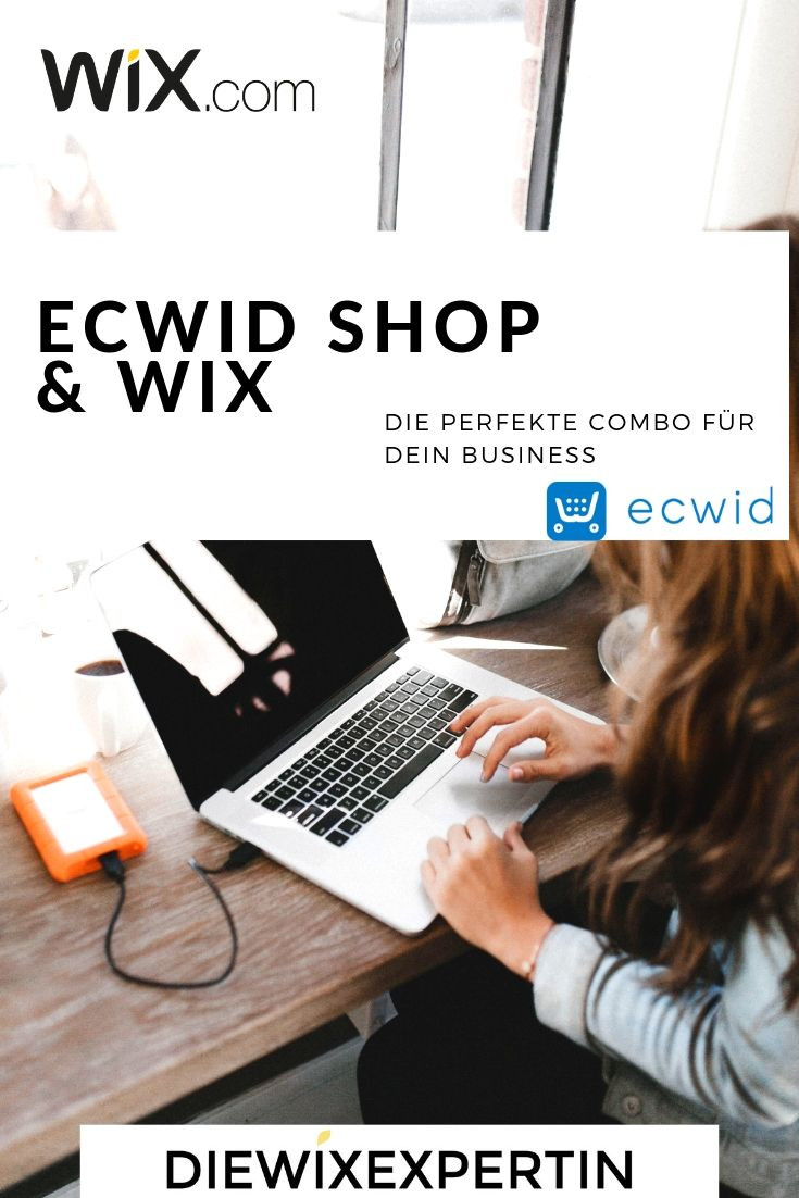 Ecwid shop mit wix webseite verbinden