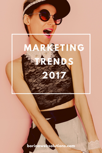 Marketing Trends Webseiten 2017