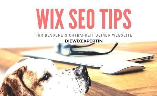 Wix SEO Tips | kleine aber wichtige Tips für mehr Sichtbarkeit und Traffic
