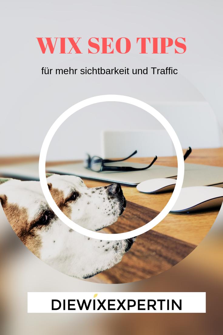 WIx seo Tips für mehr sichtbarkeit und Traffic