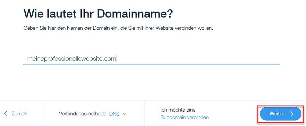 Tutorial deutsch externe Domain mit Wix Verbinden