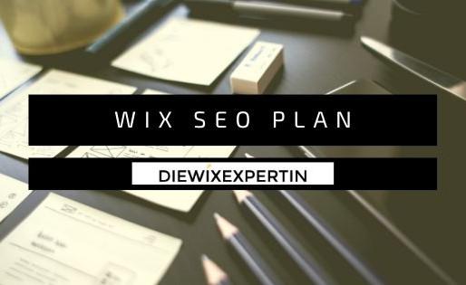 WIX SEO Plan