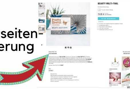 Wie kann ich im Onlineshop meine Produktseite verbessern, damit meine Produkte optimal präsentiert w