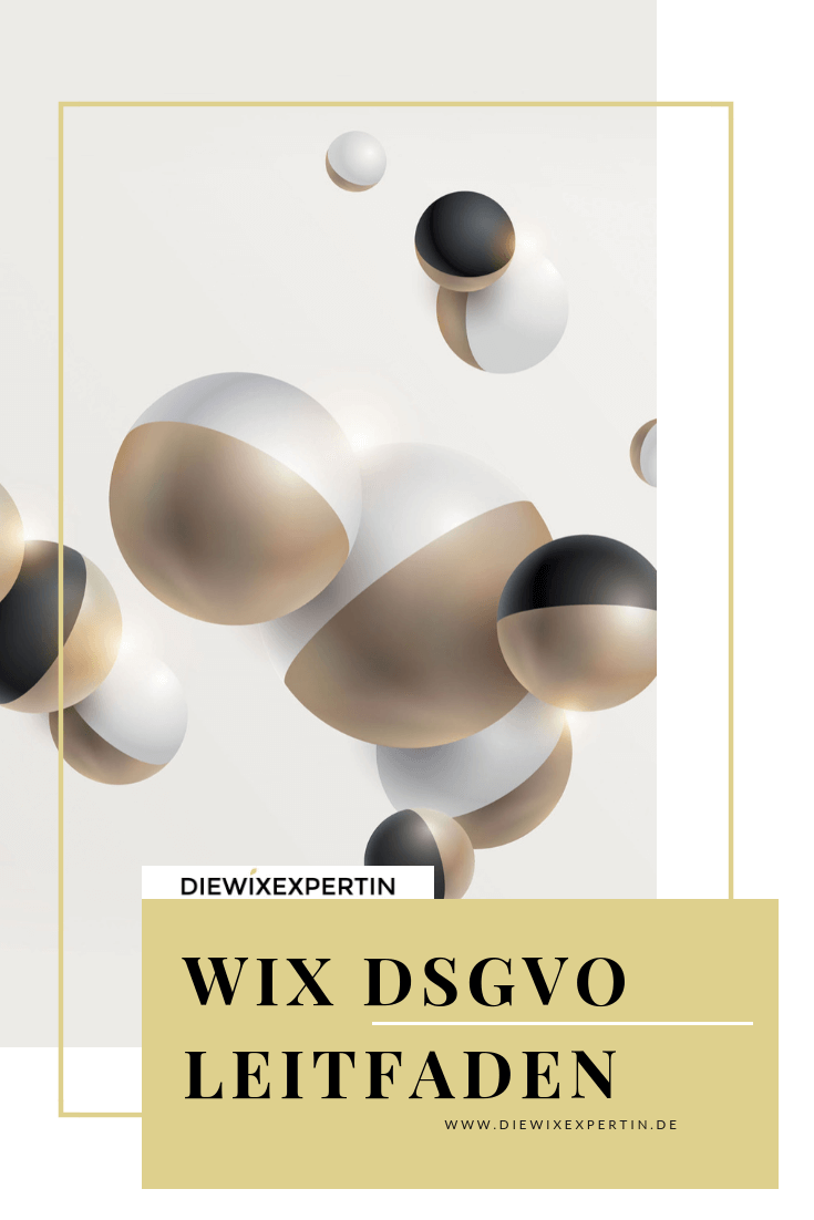 WIX DSGVO LEITFADEN/DOKUMENTATION