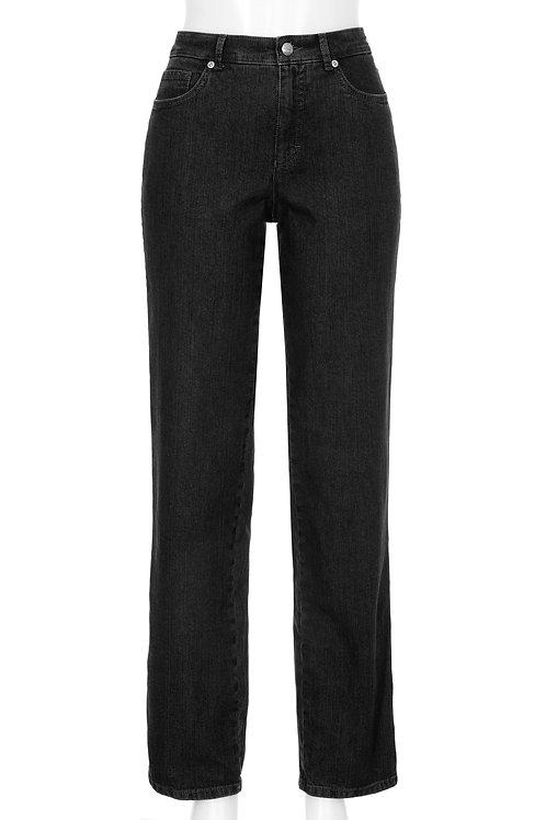 Jeans LUNA Feminine Fit – black / Stretch Denim