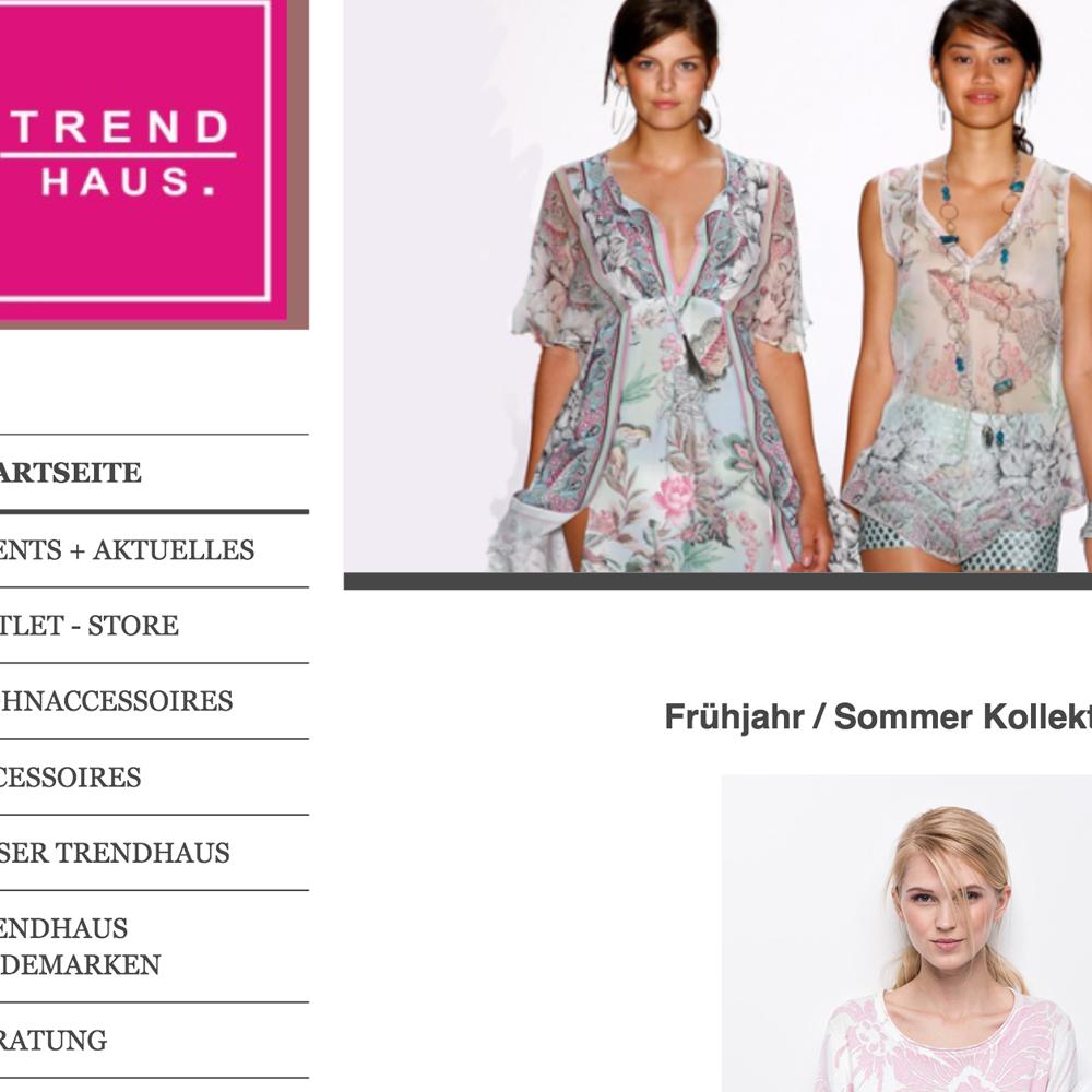 WebseitenBeispielTrendhaus1