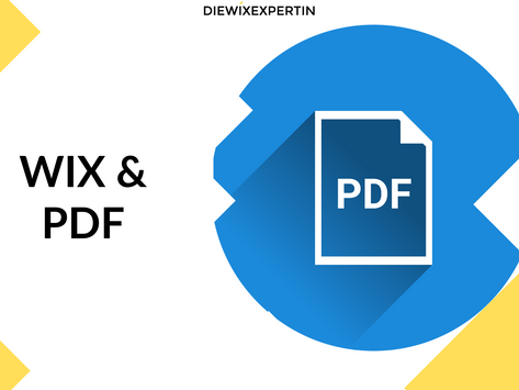 WIX PDF - Leitfaden