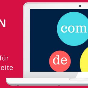 Wie und wo kann ich die Domain für meine Webseite kaufen