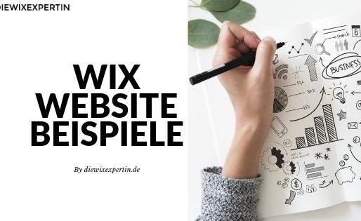 Wix Website Beispiele | Inspirationen für deine Webseite
