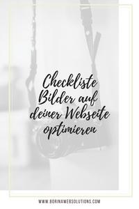 Checkliste Bilder SEO