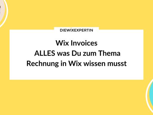Wix Invoices   Rechnung erstellen leicht gemacht