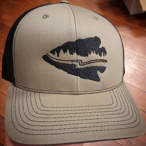 Creekwater Outfitters Arrowhead Logo Hat